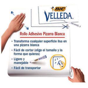 PIZARRA BLANCA VELLEDA MAG.ROLL45X50