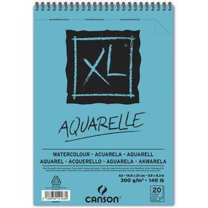 BLOC XL AQUARELLE 14,8X21 (20HJ) 300GR. CANSON