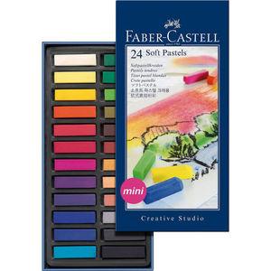 PASTEL BLANDO FABER CASTELL MINI 24C