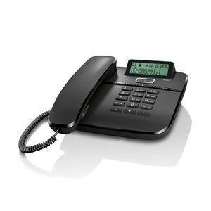 TELEFONO FIJO SIEMENS DA610 GIGASET NEGRO