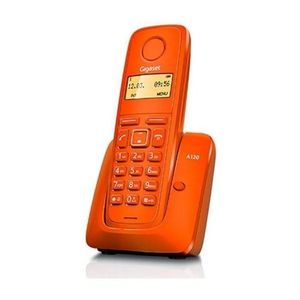 TELEFONO INALAMBRICO SIEMENS A120 GIGASET NARANJA