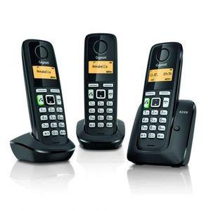 TELEFONO INALAMBRICO GIGASET A220 TRIO SIEMENS