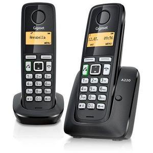TELEFONO INALAMBRICO GIGASET A270 DUO SIEMENS