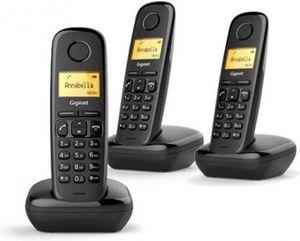 TELEFONO INALAMBRICO SIEMENS A170 TRIO GIGASET