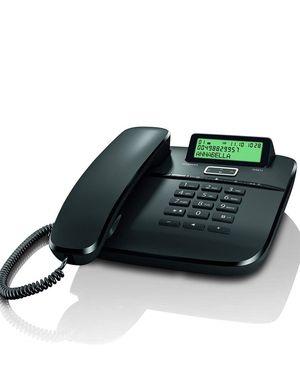 TELEFONO FIJO SIEMENS DA611 GIGASET NEGRO