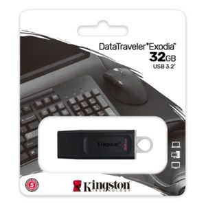 MEMORIA USB KINGSTON 32GB DT EXODIA