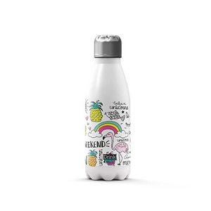BOTELLA TERMICA 350 ML UNICORNIO