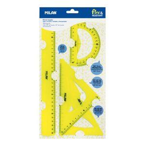 SET 4 REGLAS PVC FLEXIBLES 359801Y