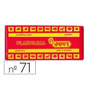 PLASTILINA JOVI MEDIANA 150 GR. ROJA 71