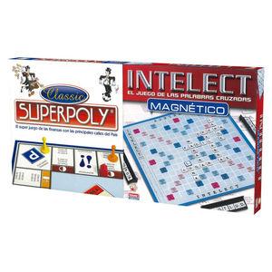 JUEGO DE MESA SUPERPOLY + INTELEC MAGNETICO 11699