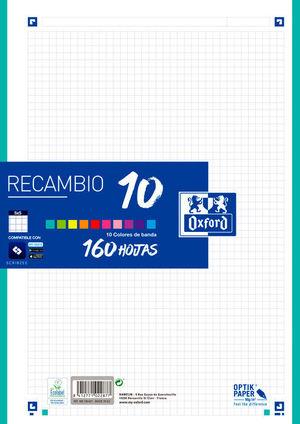 RECAMBIO OXFORD 160H. 10 COLORES