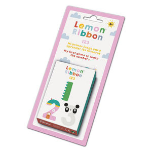 BARAJA EDUCATIVA LEMON RIBBON 1 2 3