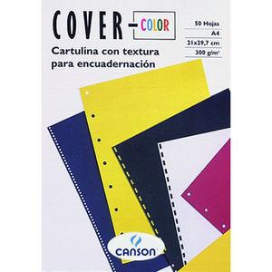 CUBIERTA CARTULINA A4 COVER NEGRO 50