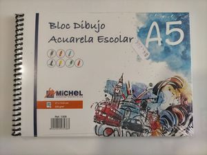 BLOC ACUARELA A5 MICHEL 1309 21X14.8CM