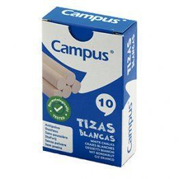 TIZAS CAMPUS BLANCA CAJA 10 U.