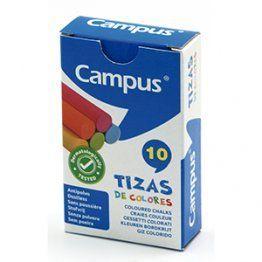 TIZAS CAMPUS COLORES CAJA 10U