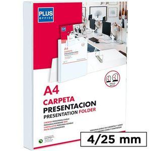 CARPETA CANGURO PVC PLUS A4 4A 25MM