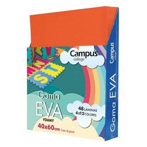 GOMA EVA CAMPUS 40X60 NARANJA
