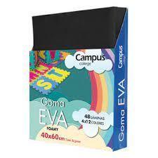GOMA EVA CAMPUS 40X60 NEGRO