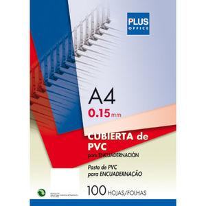 CUBIERTA PLASTICO TRANSPARENTE DIN-A4