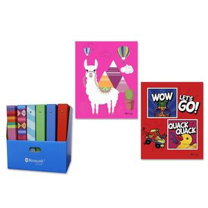 CARPETA FOLIO MIXCOLORS 4 ANILLAS