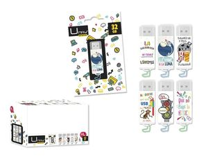 MEMORIA USB UMAY 32GB DECORADO