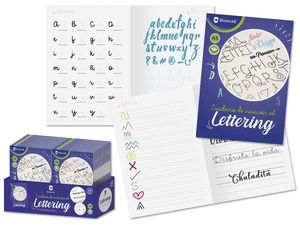 CUADERNO LETTERING A5
