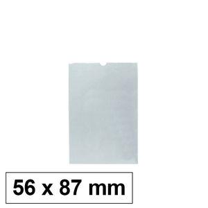 PORTACARNETS PVC CON UÑERO 60X90MM