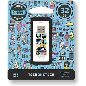 MEMORIA USB TECHONETECH 32 GB KALEYDOS