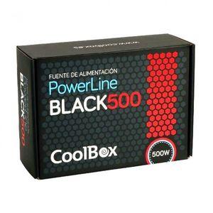 FUENTE ALIMENTACION COOLBOX BLACK500 POWERLINE