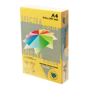 PAPEL SPECTRA A4 80GR. 500H, AMARILLO ORO