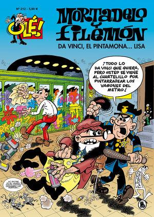 DA VINCI, EL PINTAMONA...LISA (OLE MORTADELO 212)