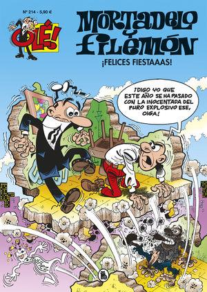 OLE MORTADELO Y FILEMON 214 - FELICES FIESTAAAS!