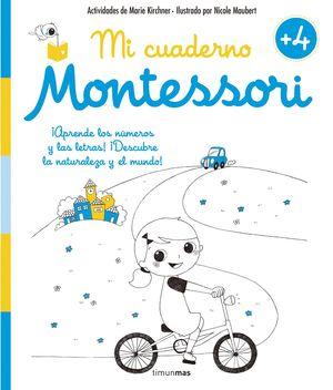 CUADERNO DE VACACIONES MONTESSORI +4