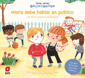 MARIA DEBE HABLAR EN PUBLICO