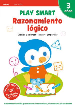 RAZONAMIENTO LOGICO 2 3AÑOS 20 PLAY SMART GAKKEN