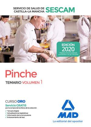 PINCHE DEL SERVICIO DE SALUD DE CASTILLA-LA MANCHA (SESCAM). TEMARIO VOLUMEN 1