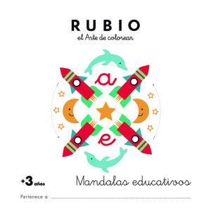 MANDALAS EDUCATIVOS RUBIO (MAS DE 3AÑOS)