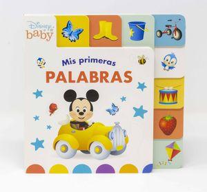 DISNEY BABY. MIS PRIMERAS PALABRAS. LIBRO CON SOLA