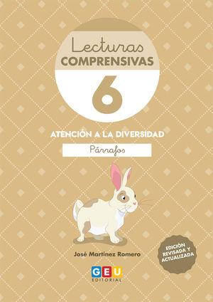 LECTURAS COMPRENSIVAS 6 4ªED LEO PARRAFOS