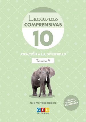 LECTURAS COMPRENSIVAS 10 4ªED