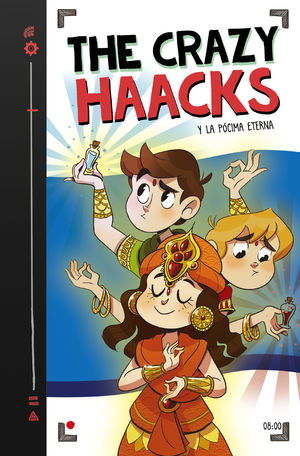 THE CRAZY HAACKS Y LA POCIMA ETERNA (SERIE THE CRAZY HAACKS 8)