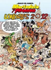 LONDRES 2012 COMIC MORTADELO Y FILEMON