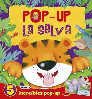 POP- UP LA SELVA INCREIBLES POP UP 5 S3171