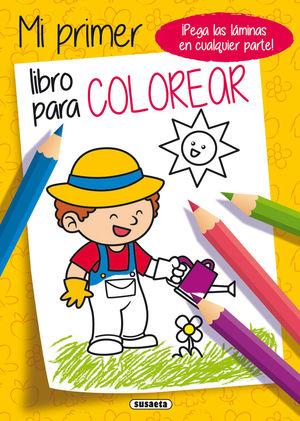 PAGINAS ADHESIVAS MI LIBRO COLOREAR S3321