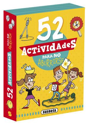 52 ACTIVIDADES PARA NO ABURRIRSE