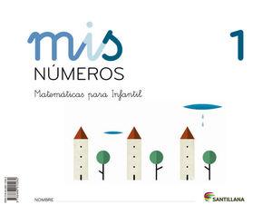 MIS NUMEROS 1 (CUAD + ALBUM) ED13