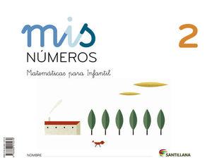 MIS NUMEROS 2 (CUAD + ALBUM) ED13