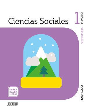 CIENCIAS SOCIALES, 1 PRIMARIA, PROYECTO SABER HACER