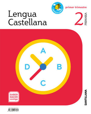 LENGUA CASTELLANA, MOCHILA LIGERA, 2 PRIMARIA, PRIMER TRIMESTRE, SABER HACER CONTIGO